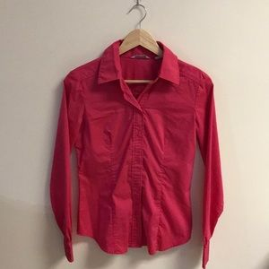 NEW Pink Button Up
